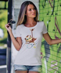 T-shirt-tenis