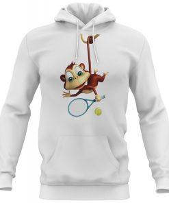 Tenis-Beyaz-Sweatshirt